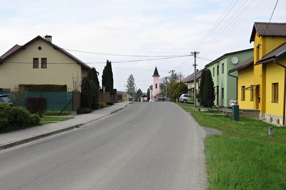 Kateřinice nabízejí pěkná místa k procházkám.