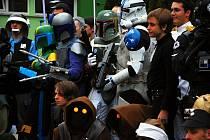Postavy z různých fantasy filmů a seriálů jsou každoroční součástí setkání KoprCon.