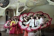 Korejští umělci vystoupili ve středu 25. září na Gala koncertu v piaristickém klášteře v Příboře.