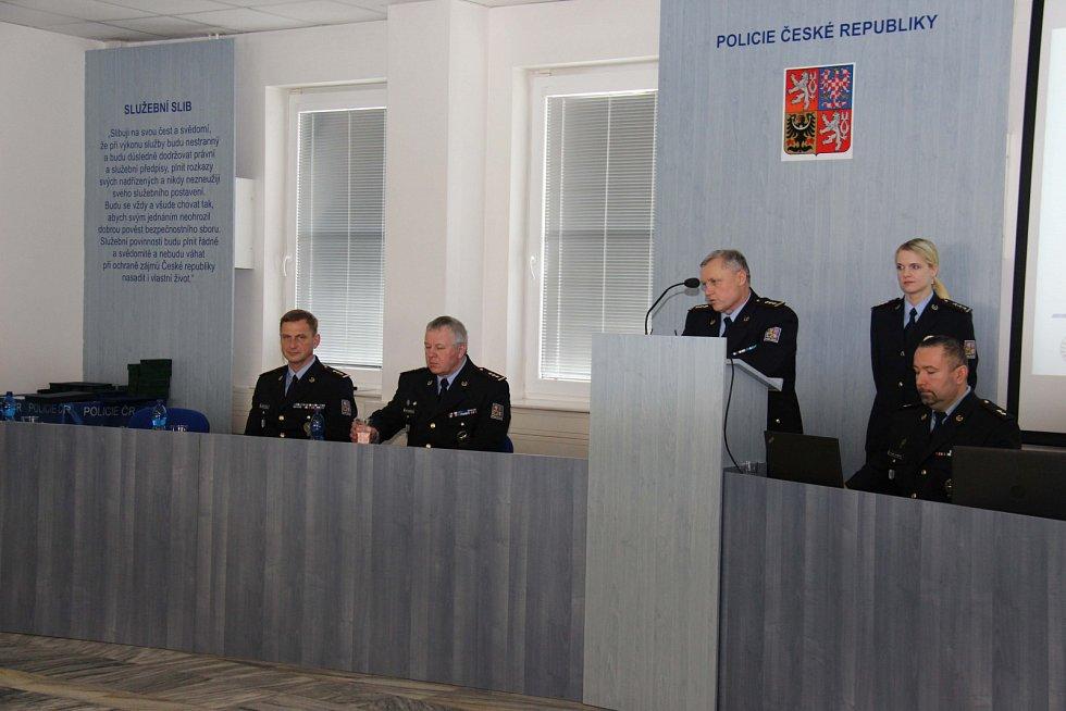 Ocenění policistů Novojičínska.