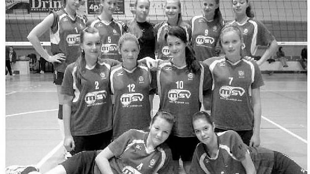 POSTUP. Volejbalistky ŠSK Bílovec postoupily v kategorii starších žaček na závěrečný pohárový turnaj.