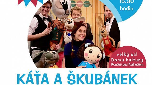 Představení Káťa a Škubánek pro děti se vrací.