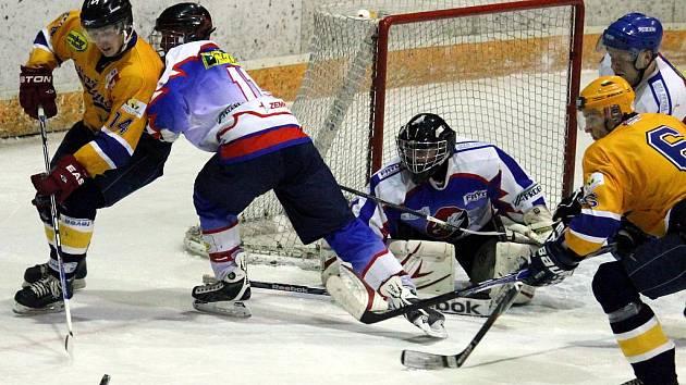 Hokejisté Kopřivnice podlehli v domácím utkání B týmu Nového Jičína.