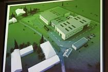 Takto by měla vypadat výrobna pelet s bioplynovou stanicí, pokud investor dostane povolení ke stavbě.