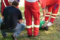 Tělo ženy leželo pod jezem říčky Jičínky v Novém Jičíně.