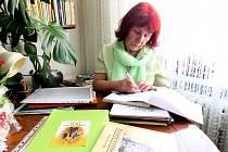 Irena Kopecká, spisovatelka z Příbora.