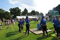 Hasiči ze Spálova si v sobotu 24. července 2021 připomněli na hodech ve Spálově 125. výročí založení sboru.