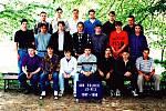 Kolektiv studentů SOU Fulnek ve školním roce 1997/1998.