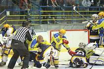 II. hokejová liga, sk. Východ, 1. kolo: HC Kopřivnice – HC Lvi Břeclav 0:3