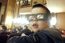 První filmy ve 3D by si malí i velcí návštěvníci mohli vychutnat již v tomto roce. Ilustrační foto.