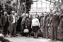 Zájezd obyvatel Bravantic do arboreta v Novém Dvoře na Opavsku dne 27. září 1980.