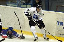 Hokejisté Nového Jičína prohráli utkání s Havířovem.