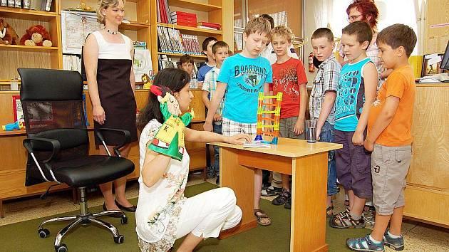 Lenka Rožnovská se na projektu aktivně podílela.