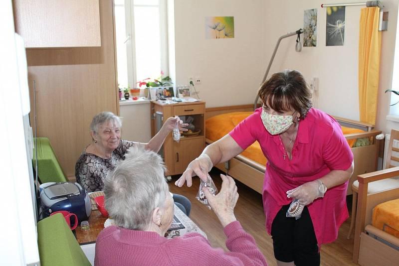 Snímek z bíloveckého domova pro seniory.