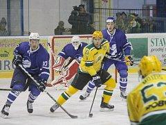 II. hokejová liga, sk. Východ, 7. kolo:  HK Nový Jičín – VHK Robe Vsetín 2:8 (1:2, 0:1, 1:5)