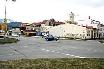 Křižovatka v centru Frenštátu se asi ještě letos změní na rondel.