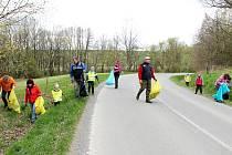 Například na Novojičínsku se o víkendu 18. - 19. dubna do celostátní akce Ukliďme Česko zapojilo šesti obcí a tři města.