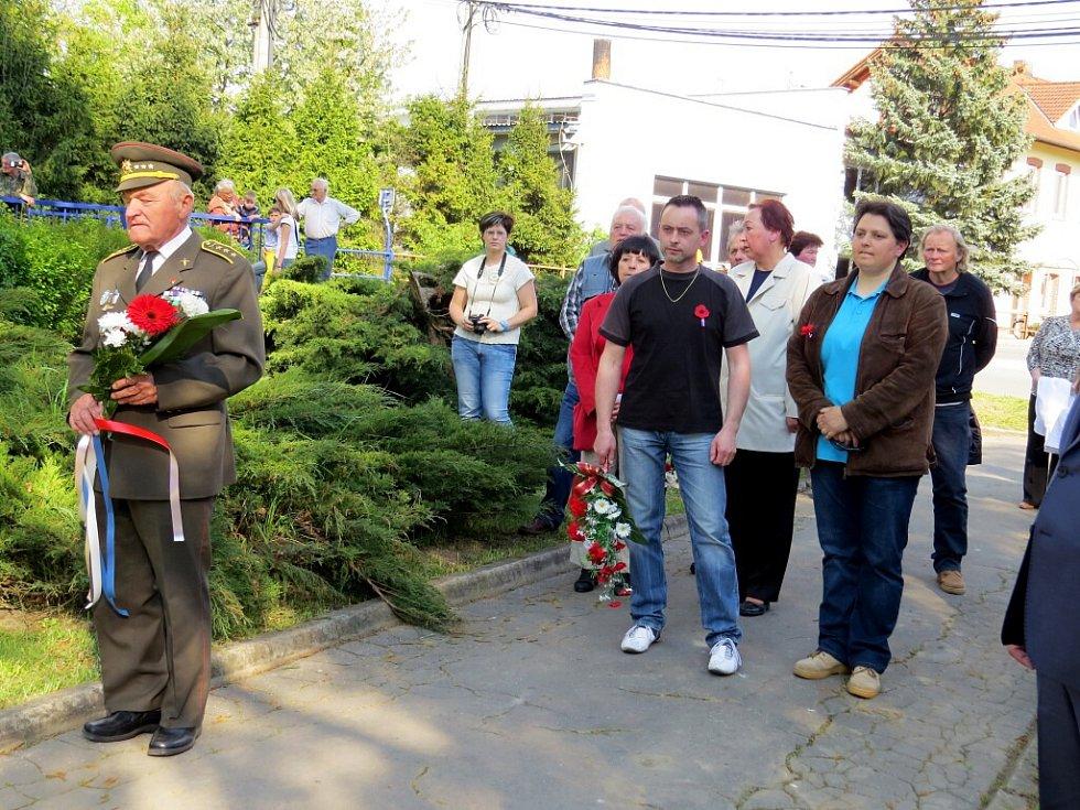 V Suchdole si připomněli 71. výročí ukončení války a osvobození městyse.