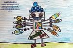V prvním čísle internetového týdeníku vyšly také kresby bojovníků proti koronaviru.