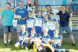 Mladší přípravka novojičínského FK ukázala svoji sílu také na závěrečném turnaji sezony, když se před nedávnem představila na Tatran Cupu ve Všechovicích.