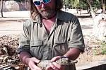Marek Jeřábek má s chovem exotických živočichů bohaté zkušenosti.