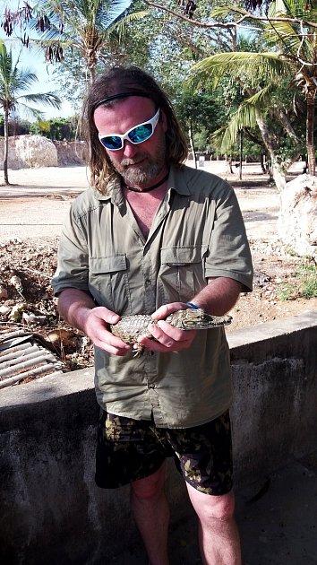 Marek Jeřábek má schovem exotických živočichů bohaté zkušenosti.