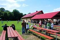 Sportovní areál byl slavnostně otevřen v sobotu 2. července.