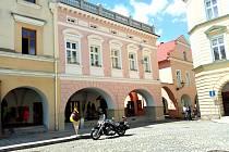 Novou fasádu má také dům číslo 8 na Masarykově náměstí.