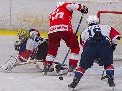 KOPŘIVNICKÉ hokejisty čeká už ve středu důležité domácí střetnutí proti Opavě.