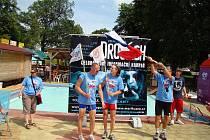V úterý 9. června zavítali na příborské koupaliště účastnící protidrogové kampaně Cykloběh za Českou republiku bez drog 2009, kterou organizuje občanské sdružení Řekni ne drogám – řekni ano životu.