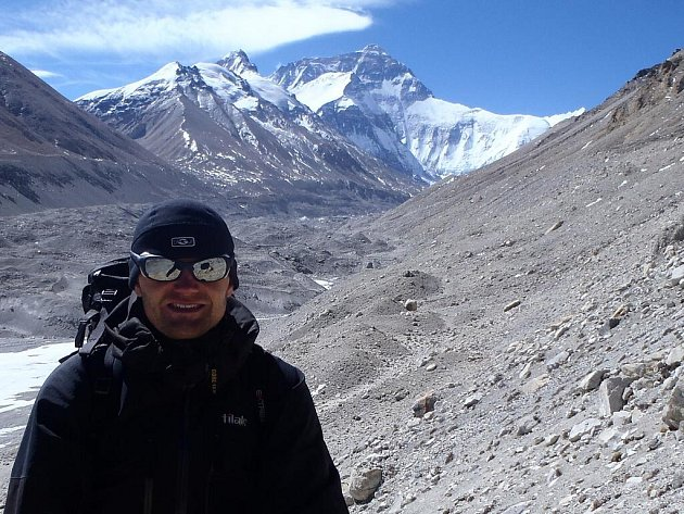 Foto z expedice na Mount Everest.