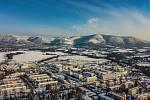 Frenštát pod Radhoštěm a okolí v pátek 19. března 2021 ráno.