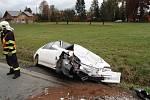 Vážná dopravní nehoda se stala v pátek 18. října kolem poledne v Kopřivnici.