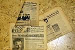 Atmosféru po Únoru 1948 dobře zachycují i dobové noviny.