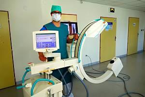 Nové rentgenové C - rameno v novojičínské nemocnici.