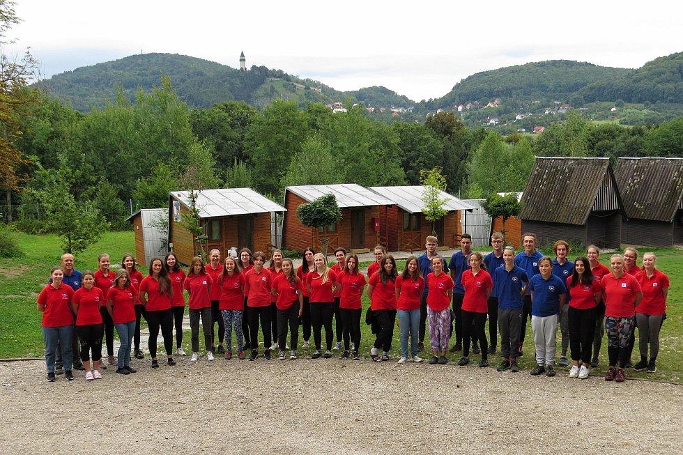 Novojičínský pěvecký sbor Ondrášek mívá srpnová soustředění v rekreačním areálu U Kateřiny ve Štramberku už řadu let.