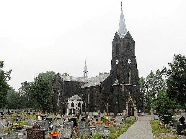 Kostel v partnerském městě Swietochlowice.