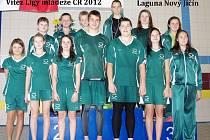 Vítězný tým finále Ligy mládeže 2012.