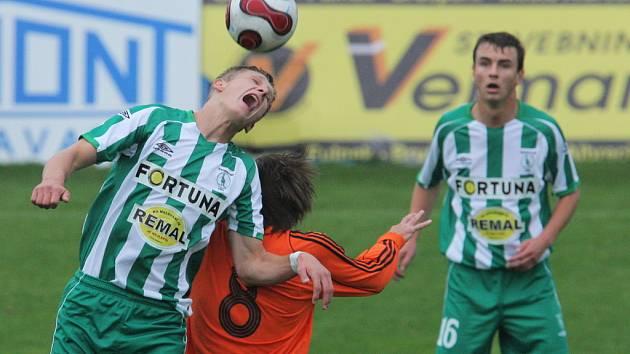 V 10. kole II. fotbalové ligy fotbalisté Fulneku na domácí půdě remizovali s FC Bohemians 1905.