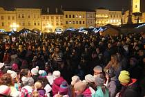 Akce Deníku Česko zpívá koledy v Novém Jičíně.
