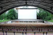 Letní kino v Novém Jičíně. Ilustrační foto.