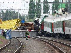 Vyšetřování železničního neštěstí. Ilustrační foto