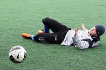 Fotbalisté Frenštátu nezvládli proti Lískovci druhý poločas.