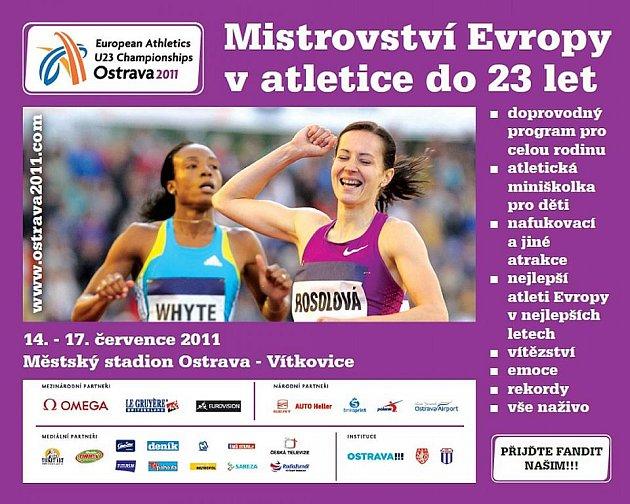 Mistrovství Evropy v atletice do 23 let.