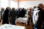 Setkání u památníku americkým letcům, jejichž bombardér sestřelili před 75 lety německé stíhačky, se uskutečnilo v sobotu 14. prosince v Palačově u Starého Jičína.