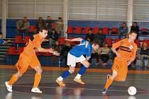 Futsalový turnaj juniorských výběrů U16 a U18 v Brušperku opanovaly celky prvoligového CC Satum Czech Jistebník.