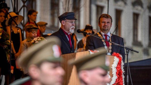 Tomáš Garrigue Masaryk v Novém Jičíně