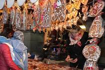 Martinský trh ve Frenštátě pod Radhoštěm.