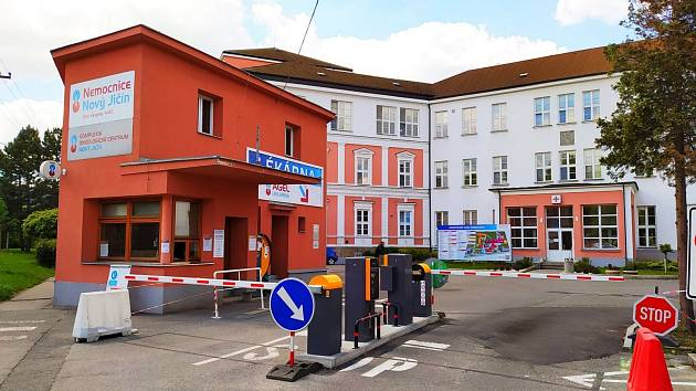 Nemocnice Agel v Novém Jičíně.