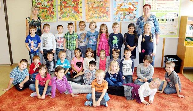 Prvňáčci ze Základní školy J. A. Komenského, Fulnek.